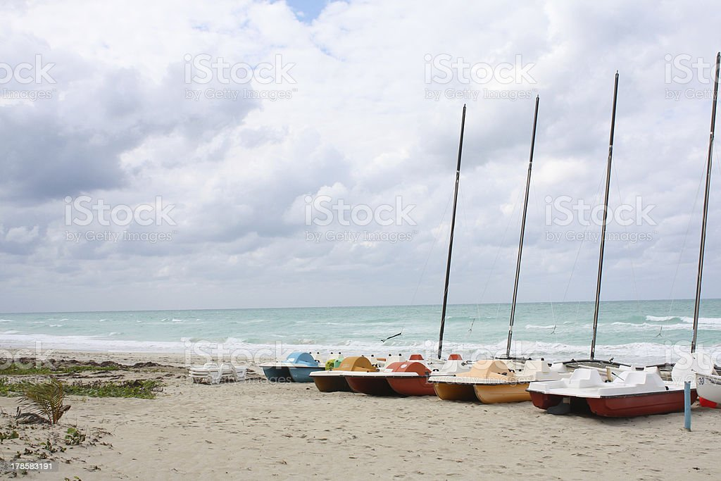 Colorful Boats royalty-free stock photo