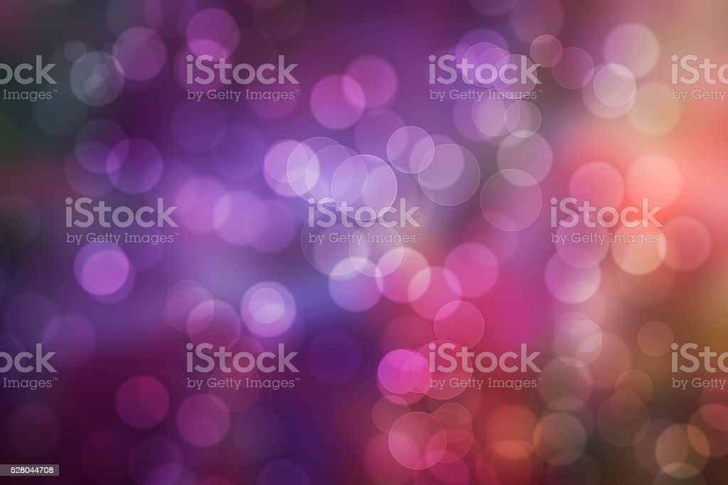 Colorful Bokeh Abstract Background stock photo