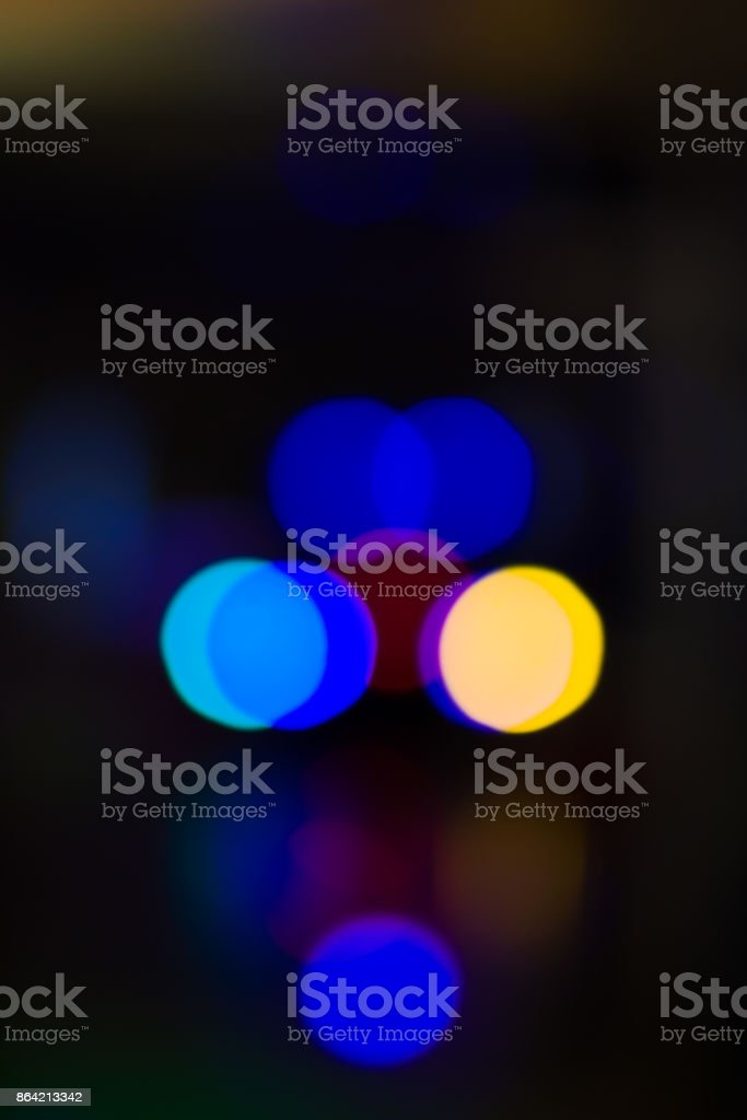 colorful bokeh background from salute on black royalty-free stock photo