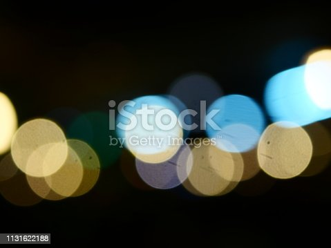istock Colorful bokeh background 1131622188