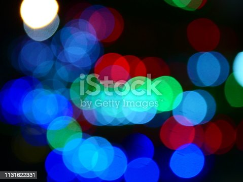 istock Colorful bokeh background 1131622331