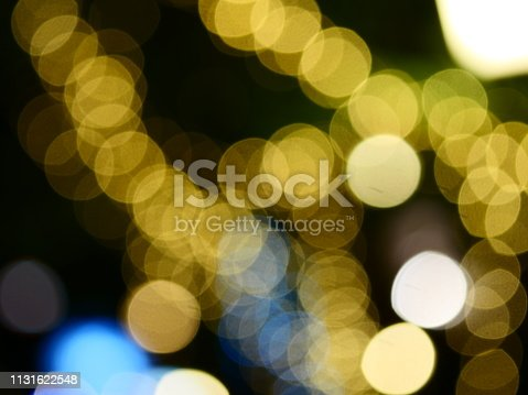 istock Colorful bokeh background 1131622548