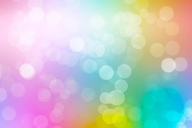 colorido, fundo de bokeh (desfoque de fundo - colorful background - fotografias e filmes do acervo