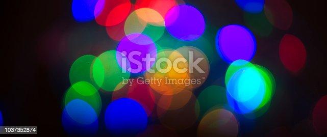 613518332 istock photo Colorful Bokeh 1037352874