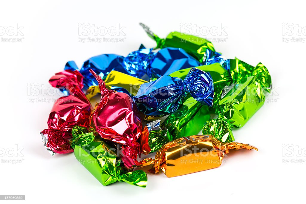 Colorful Bonbons,Candy royalty-free stock photo