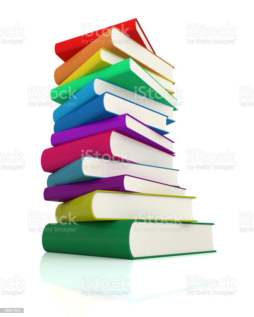 Colorful Book royalty-free stock photo