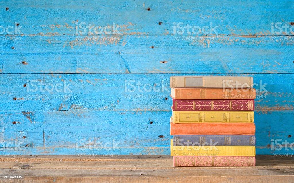Bunte Bücher Lizenzfreies stock-foto