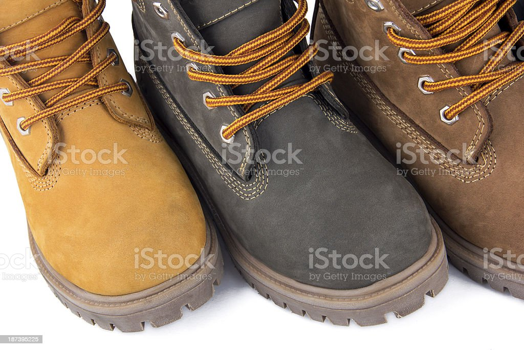 Colorful Boots stock photo