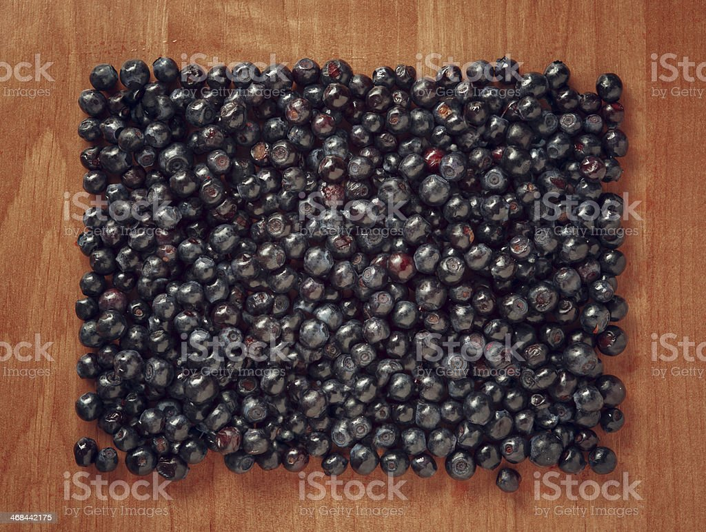 Colorful border frame made of berries. royalty-free stock photo