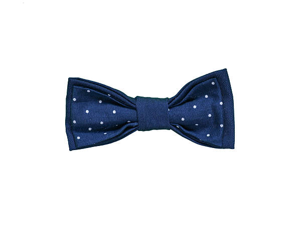 Colorful Bow Tie Isolated On White Background. stock photo