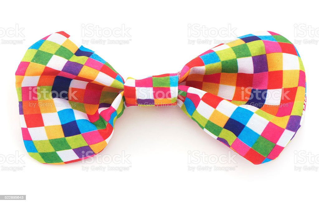 Colorful Bow Tie stock photo