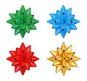istock Colorful bows set. 176961076