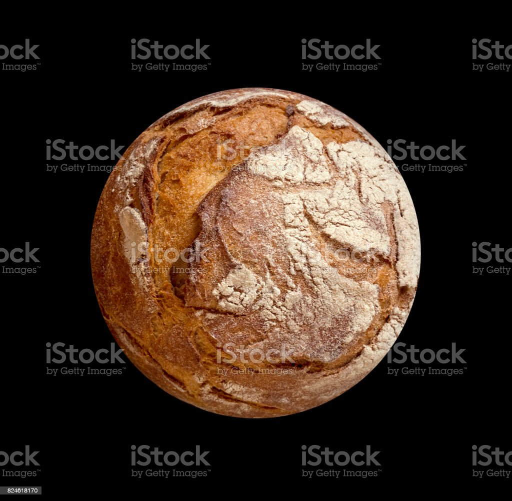 colorful bread on black stock photo