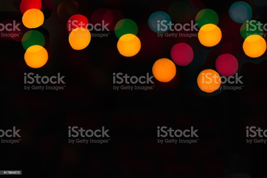 Colorful Bubble Bokeh Background Template Stock Photo & More