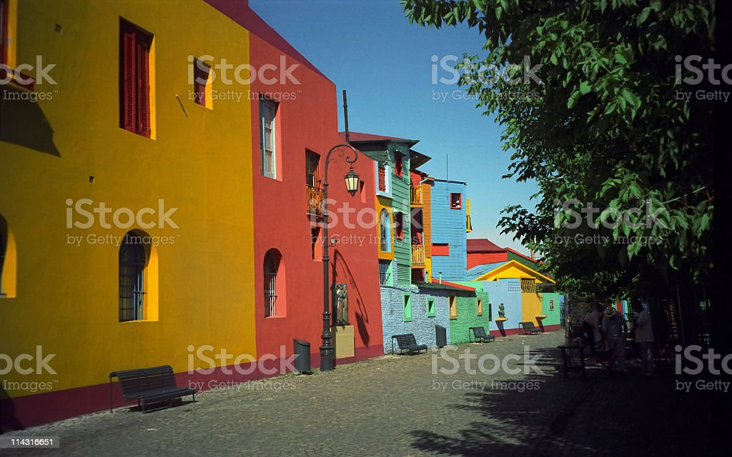 Colorful Buenos Aires stock photo