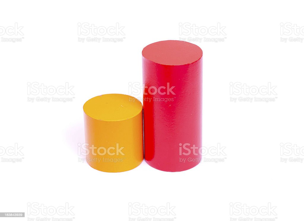 Colorful Building Blocks stock photo