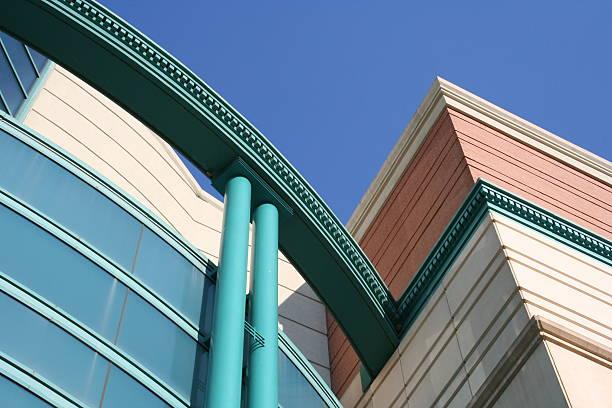 Détail du bâtiment du colorés - Photo