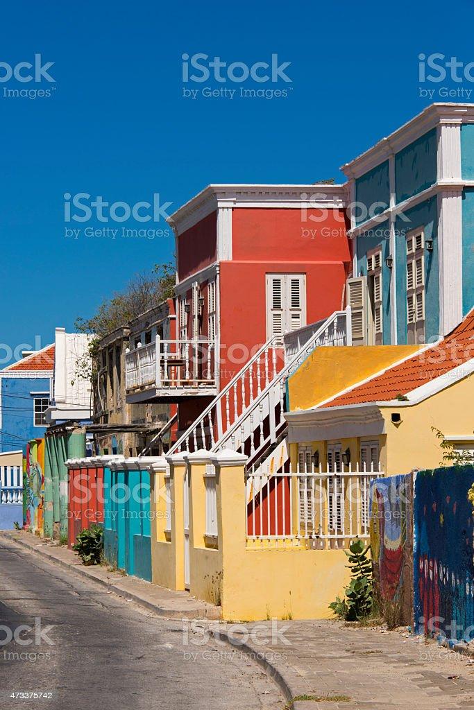 Colorido Edificios En El Caribe Street Foto de stock y más