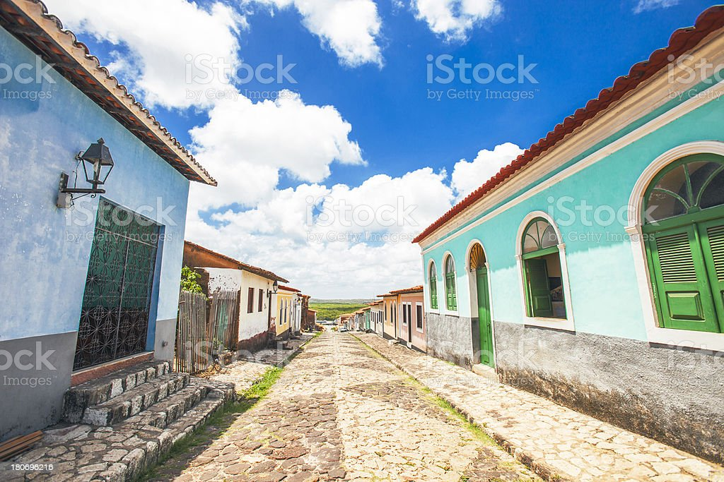 Colorful buildings. royalty-free stock photo
