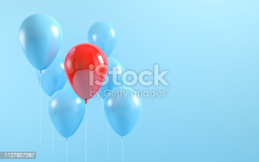 istock Colorful Bunch of balloons 1127927287