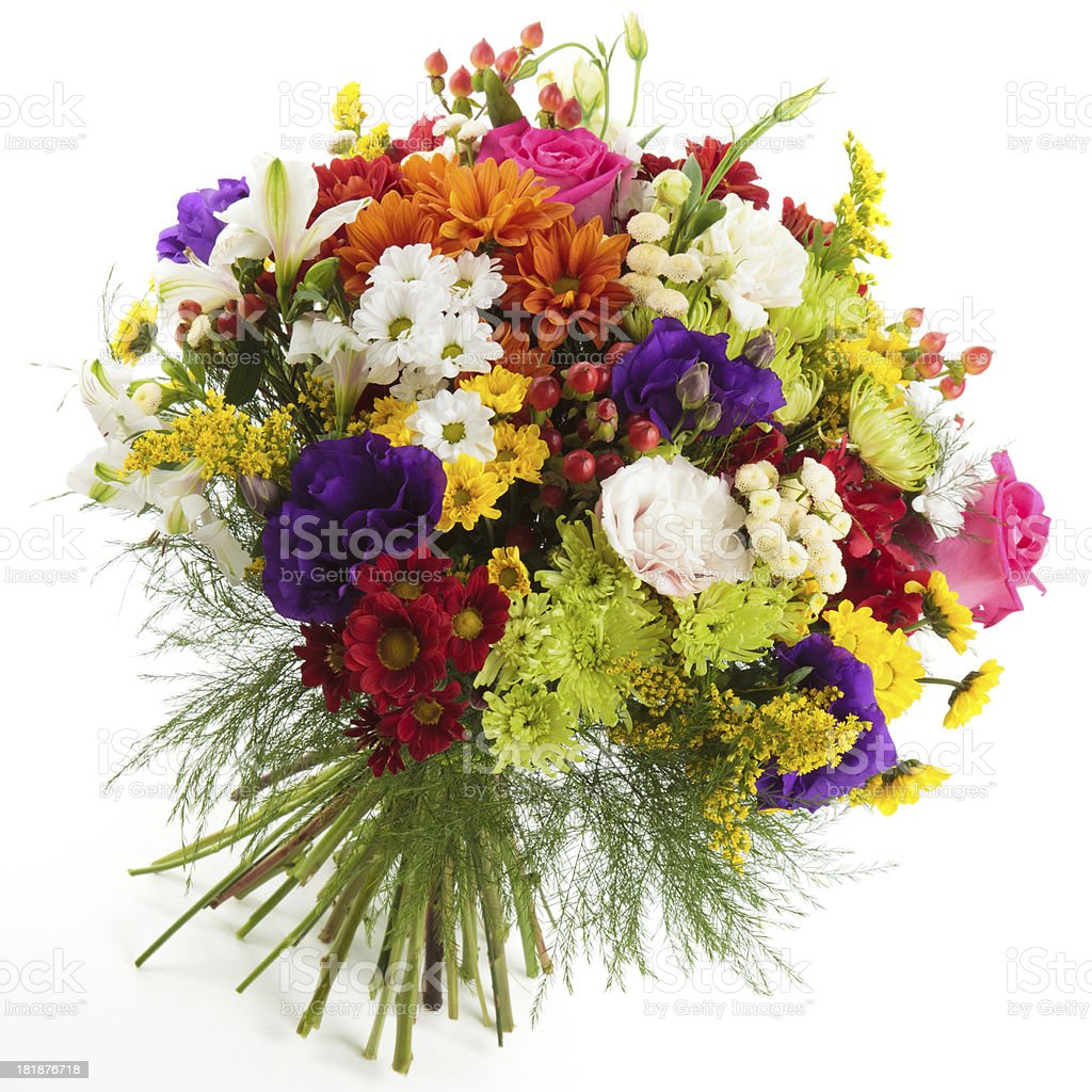 Colorful bunch royalty-free stock photo