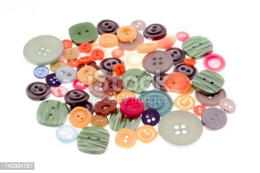 537376226istockphoto Colorful buttons 140384757