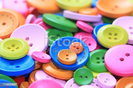 537376226istockphoto Colorful buttons 174930892