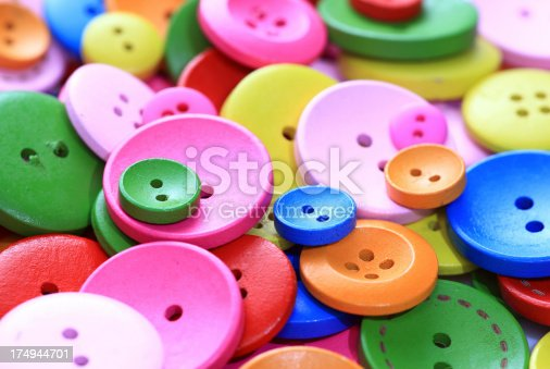 537376226istockphoto Colorful buttons 174944701