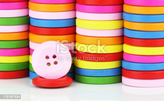 537376226istockphoto Colorful buttons 175187534