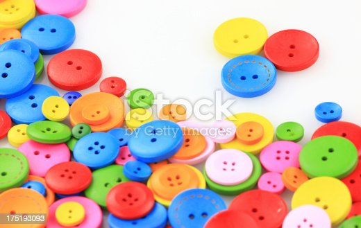 537376226istockphoto Colorful buttons 175193093
