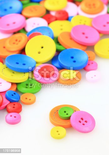 537376226istockphoto Colorful buttons 175198958