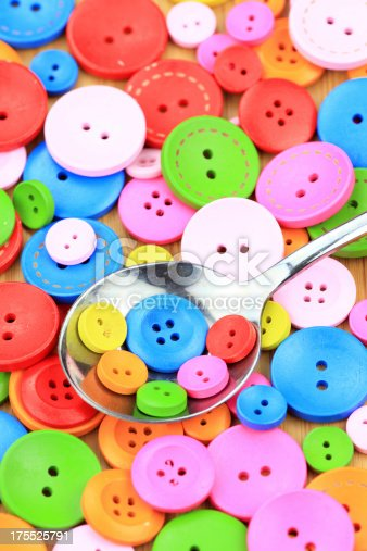 537376226istockphoto Colorful buttons 175525791