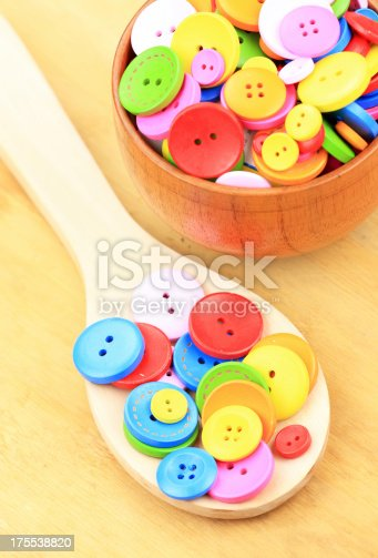 537376226istockphoto Colorful buttons 175538820