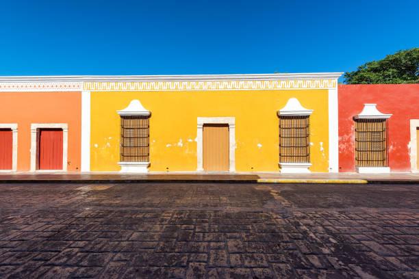 Colorful Campeche, Mexico stock photo