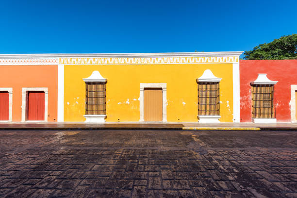Colorful Campeche, Mexico stock photo