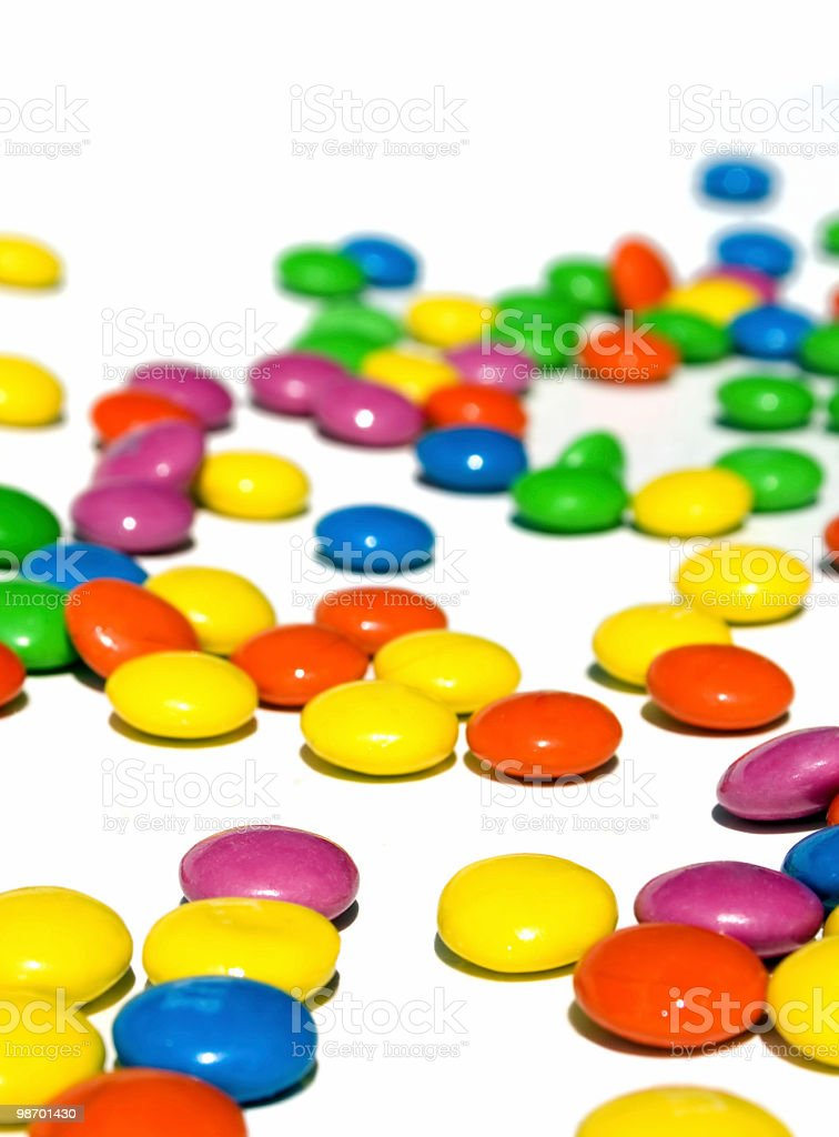 Colorful Candies 2 royalty-free stock photo