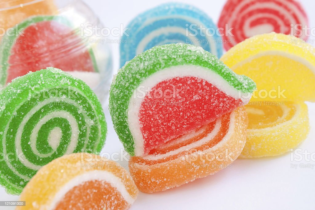 colorful candies jelly royalty-free stock photo