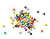 カラフルなキャンディ