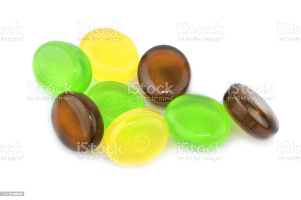Renkli şekerler stok fotoğrafı