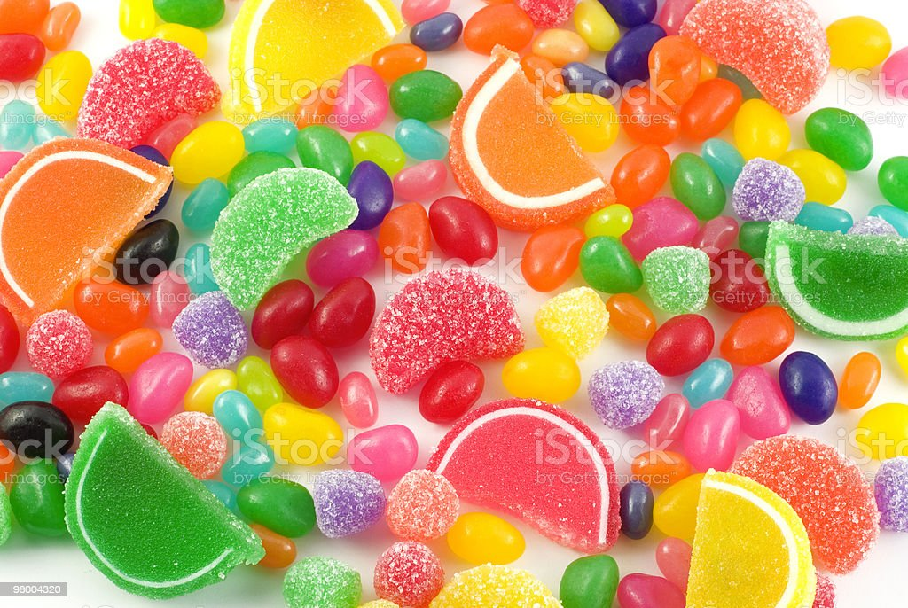 Colorful Candy Background royalty free stockfoto