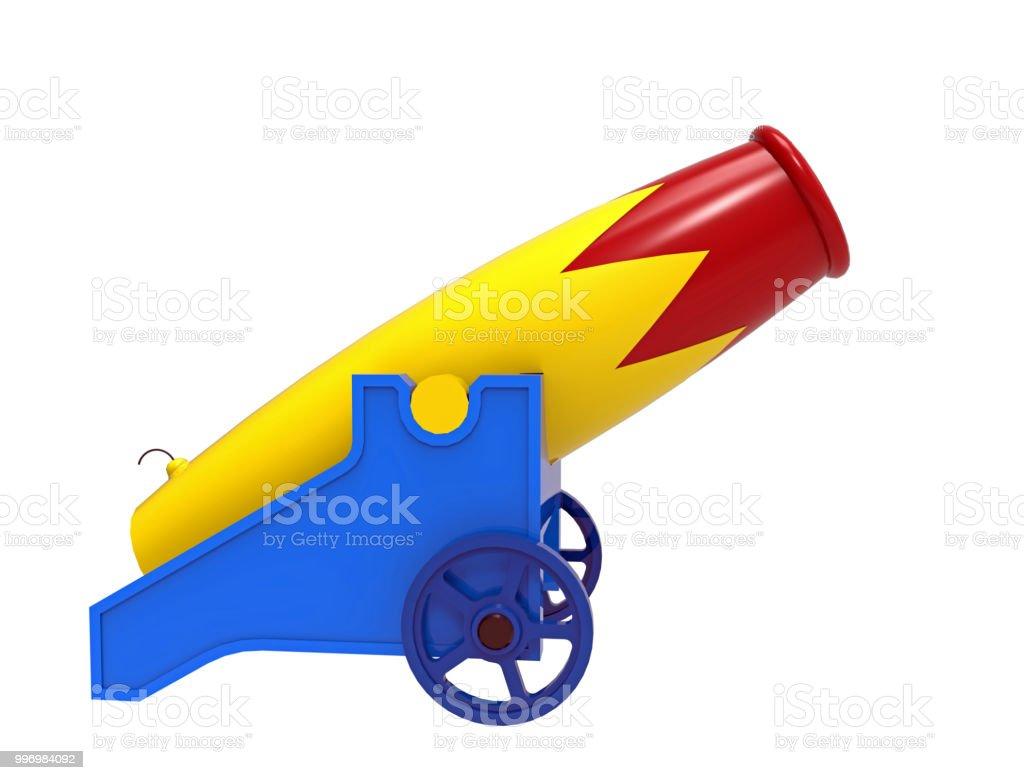 colorful cannon