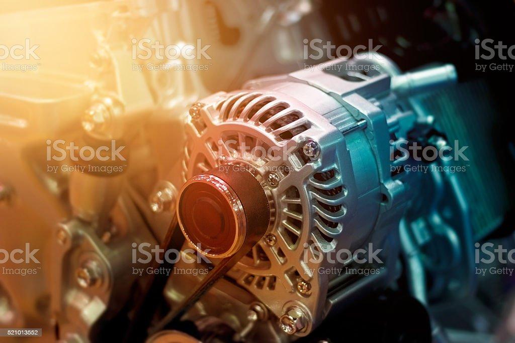 Bunte Auto-Motor Teil – Foto