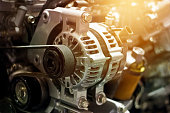 istock colorful car engine part 583725860