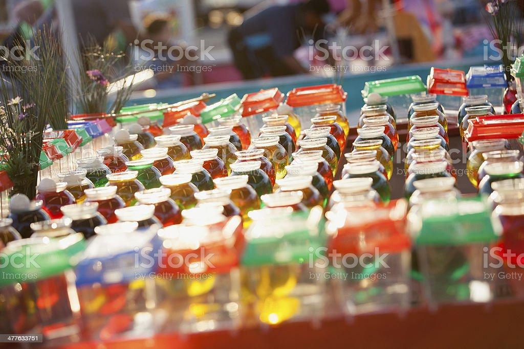 Colorful Carnival Fishbowls royalty-free stock photo