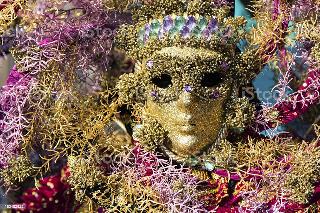 Colorful carnival mask royalty-free stock photo