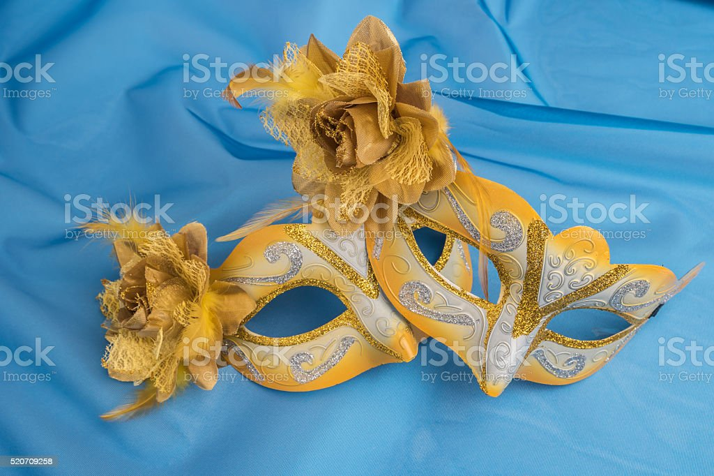 Colorful carnival mask stock photo