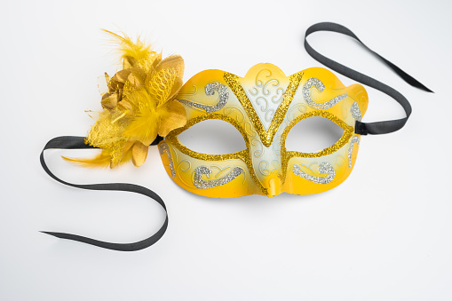 Colorful Carnival Mask Stock Photo - Download Image Now