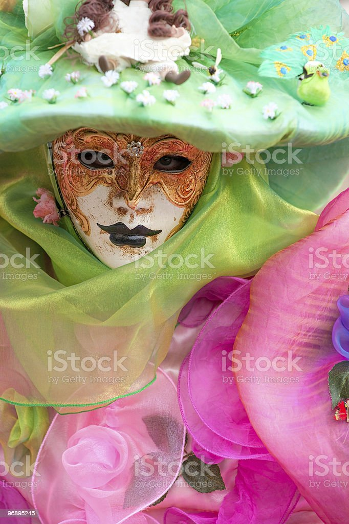 Colorful carnival mask, Venice. royalty-free stock photo