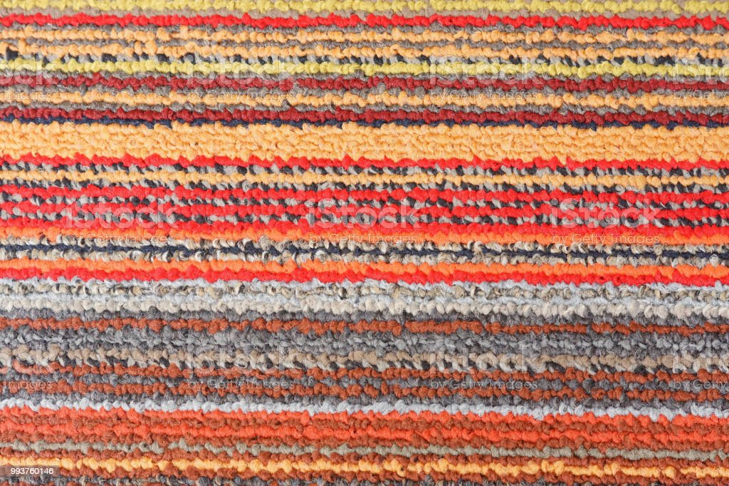 Colorful carpet texture background for background and decoration