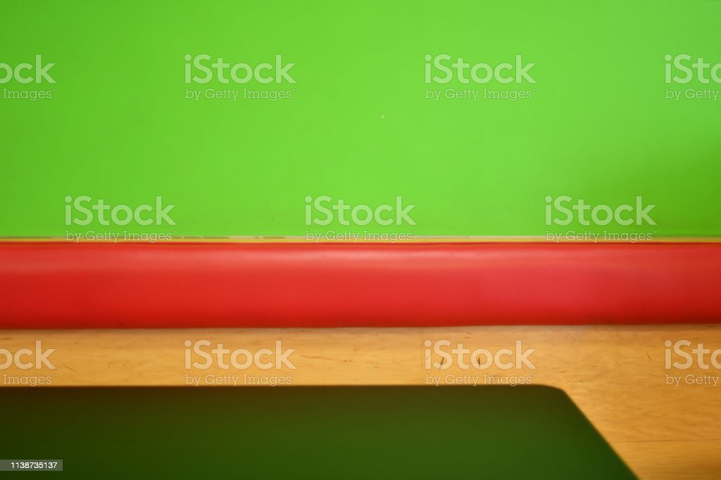 Colorful Casual Restaurant Seating and Table stock photo